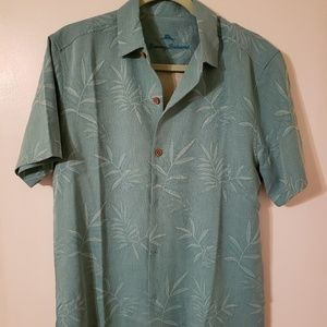 NWT Men's Tommy Bahama 100% Silk Shirt